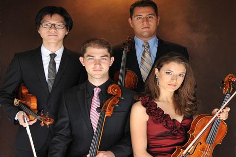 Roberto Diaz, the Dover Quartet, and pianist Alexander Ullman