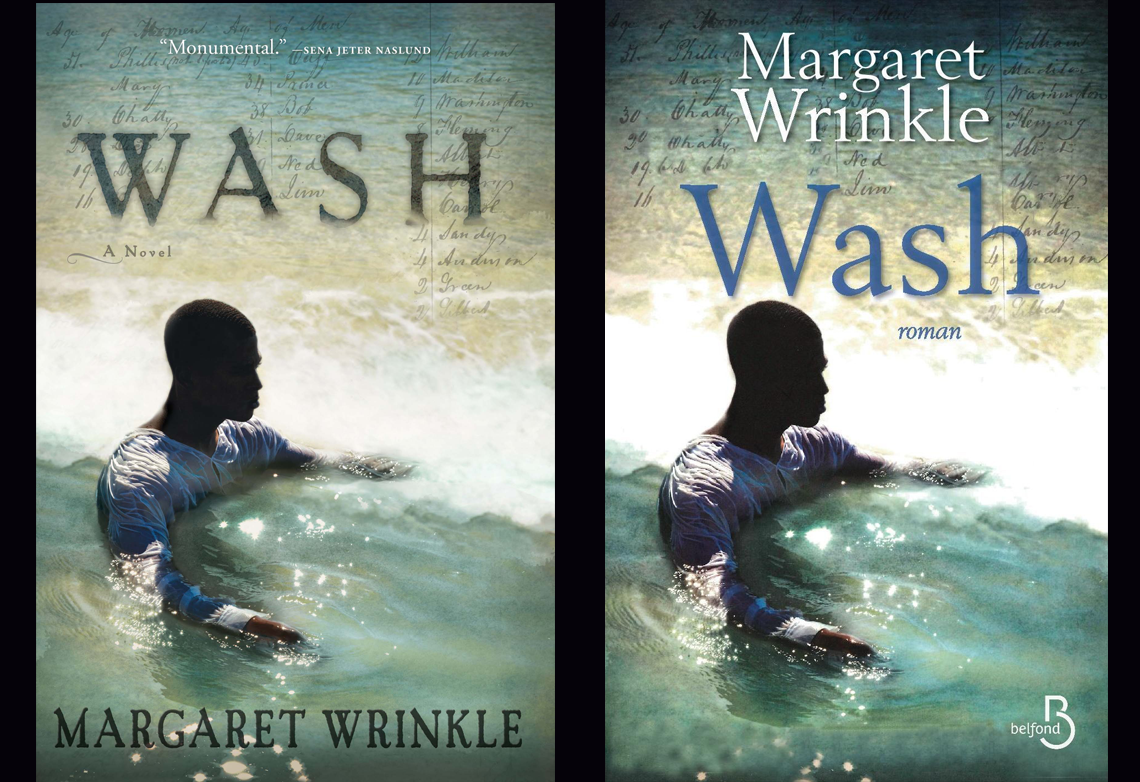 MARGARET WRINKLE, award-winning author of WASH