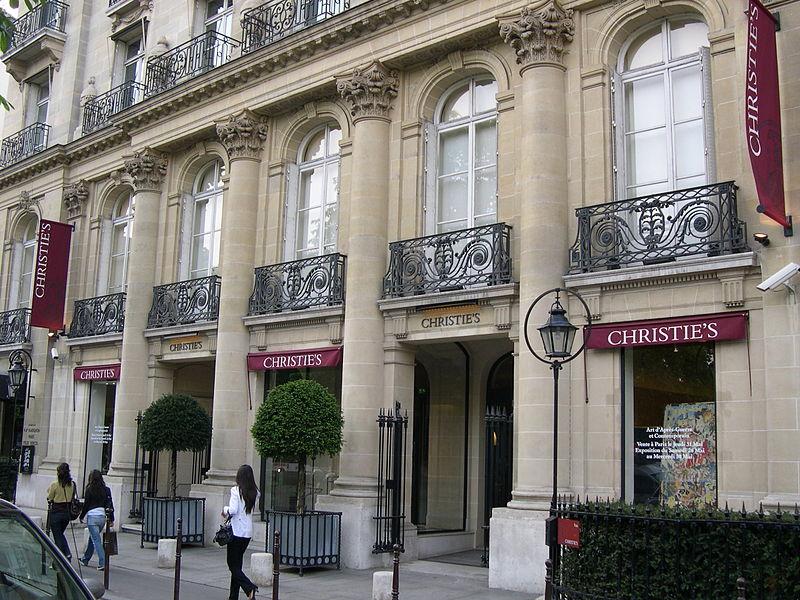 CANCELED. Cécile Verdier, President of Christie's France