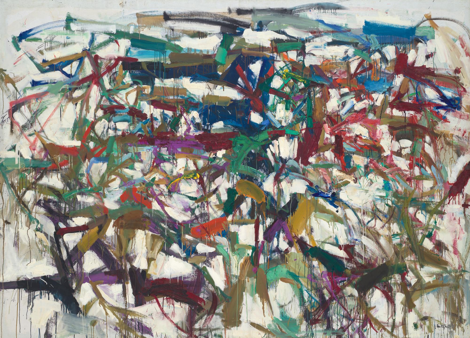 Robert Storr on artist Joan Mitchell