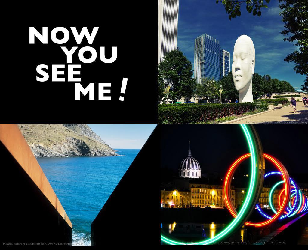 NowYouSeeMe!   International Public Art Short Film Contest