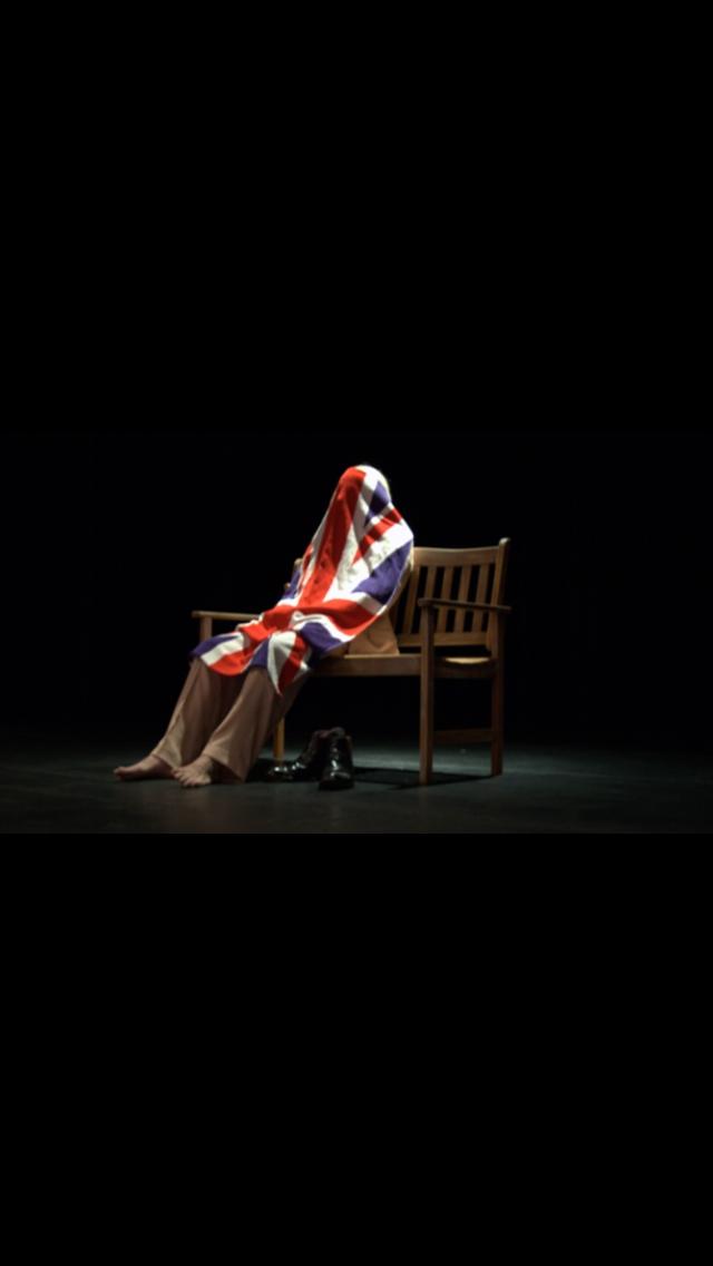 Richard Elfyn in a solo performance